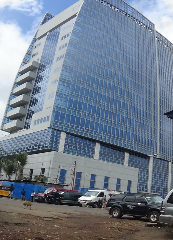 MINISTER OF LOCAL GOVERNMENT INPECTS FCC'S NEW ICONIC BUILDING