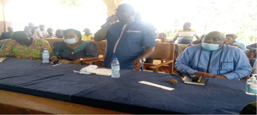 LOCAL GOV'T MINISTRY REINSTATES PARAMOUNT CHIEF OF BAGRUWA CHIEFDOM