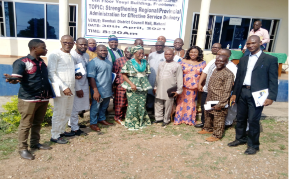 Local Gov't Ministry Holds Retreat on Effective Service Delivery