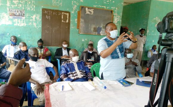 DIRECTOR OF LOCAL GOVERNMENT, OTHER STAKEHOLDERS RESTORE PEACE TO GOLAHUN TUNKIA CHIEFDOM