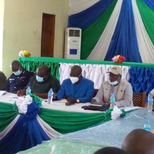 LOCAL GOVERNMENT MINISTER & OTHER STAKEHOLDERS DEVISE AND AGREE ON TEMPORAL STRATEGIES OF PEACE IN KALIA AND FULLA WUSU CHIEFDOMS