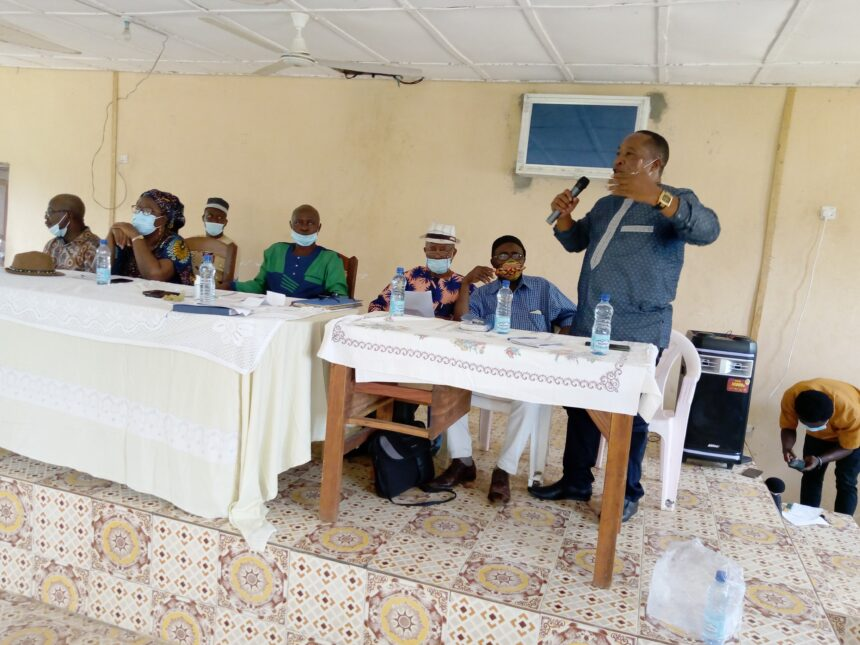 DIRECTOR OF LOCAL GOVERNMENT ADMONISHES RESIDENTS IN PUJEHUN DISTRICT ON THE NEED TO MAINTAIN PEACE IN THEIR CHIEFDOMS